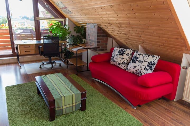 1 Zi. App. in Puchheim, 35 m2, 20 min City