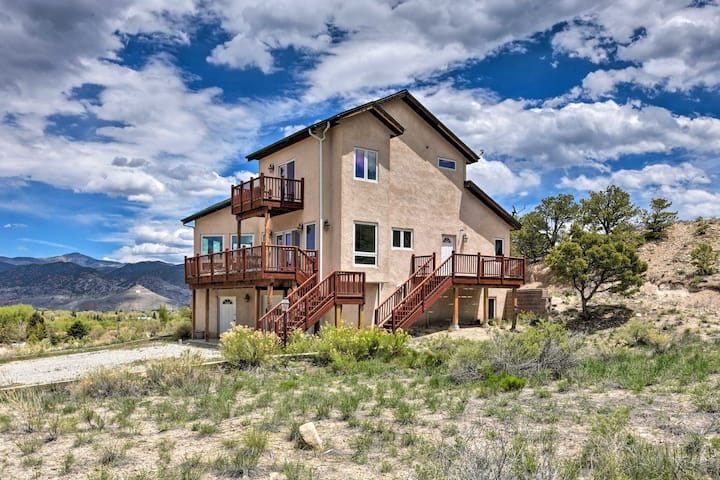 Large Salida Home w/ Mtn Views - 2 Mi to Downtown!