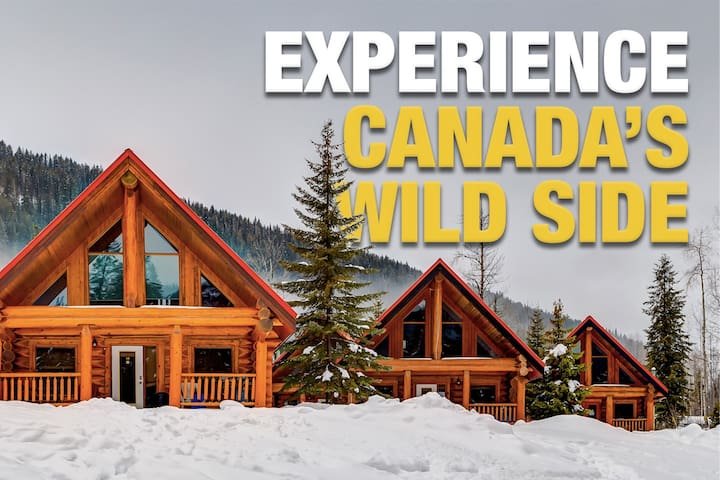 ☼Rustic Rockies Log Chalet Getaway for Ski or Hike