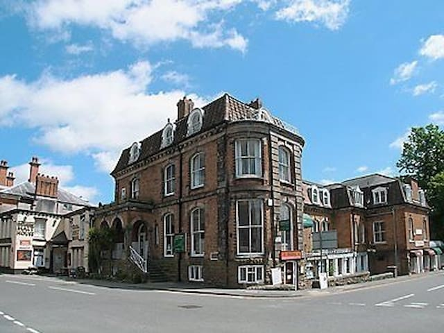 first floor apartment in former Georgian hotel Beautiful location - Church Stretton - Apartment