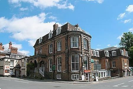 first floor apartment in former Georgian hotel Beautiful location - Church Stretton - Appartement