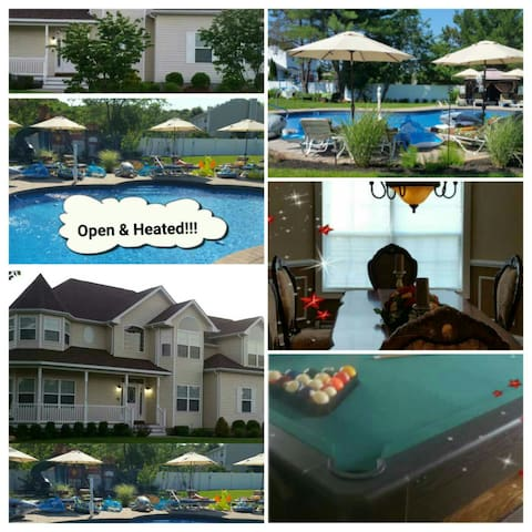 Mansion with HEATED POOL - Open All Year Round!!! - Medford - Casa