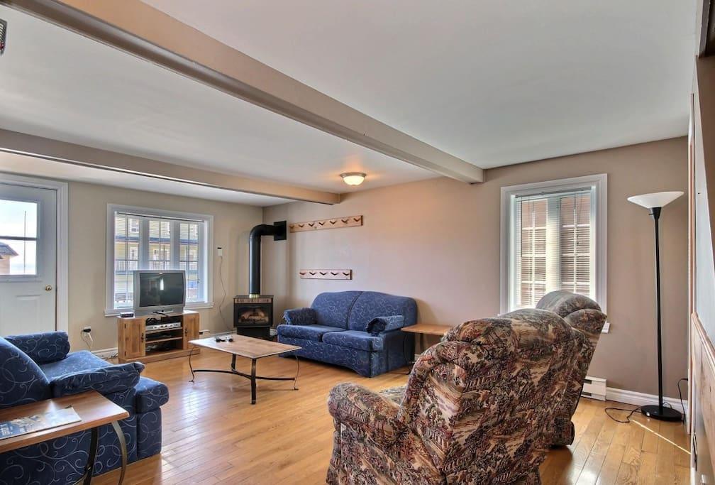 Salon et foyer intérieur