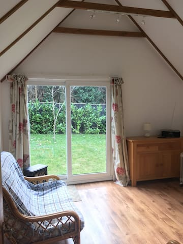 Converted barn in conservation area - Farnham