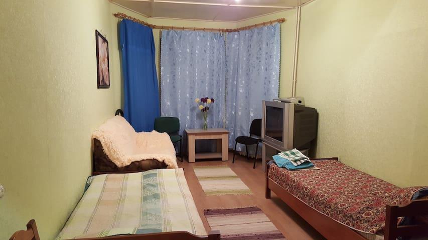 Уютная квартира, в 2-х этажном доме