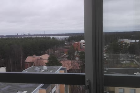 56m2 apartment on top- floor with great views - Oulu