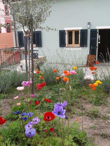 Accogliente camera con bagno - Carro, SP, Italia - Huis