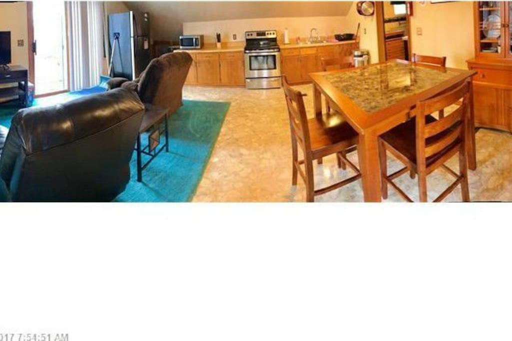 Living Room/Dining/Kitchen