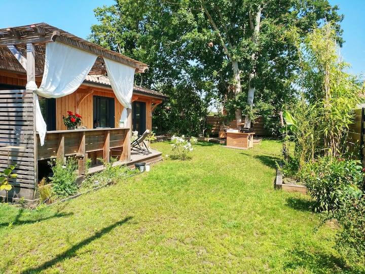 Ravissante maison bois à deux pas du lac