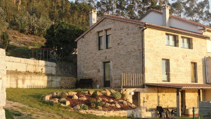 CASA PEDREGUEIRA. Vista Ría Arousa,Mar,Gastronomía - Vilagarcía de Arousa - Дом