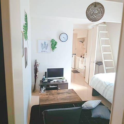 清潔感があるシンプルな お部屋 !!! Wi-Fi設置