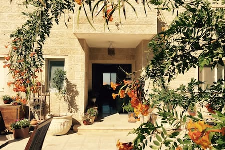 Sunny Mountain Bdrm & Prvt Bath near Jerusalem - Har Adar