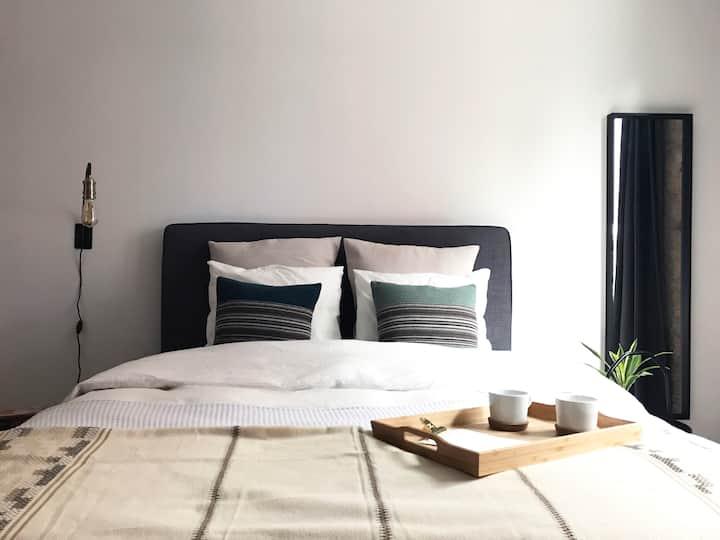 cosy, comfy, authentic, modern apartment @eilandje