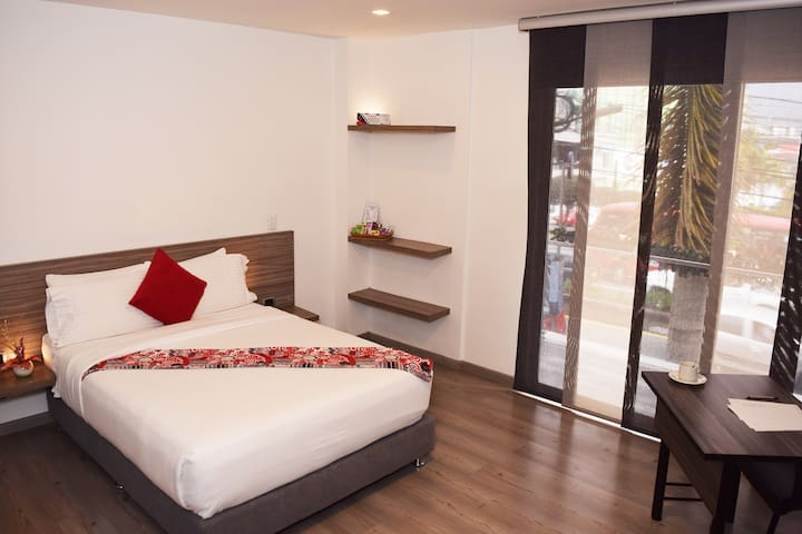 Cómoda y Privada habitación con Terraza