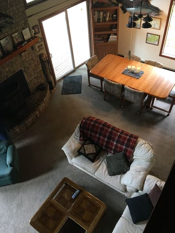 The living space.