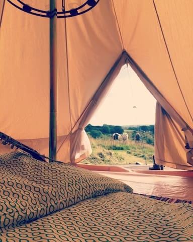 'Wild & Free' Bell Tent