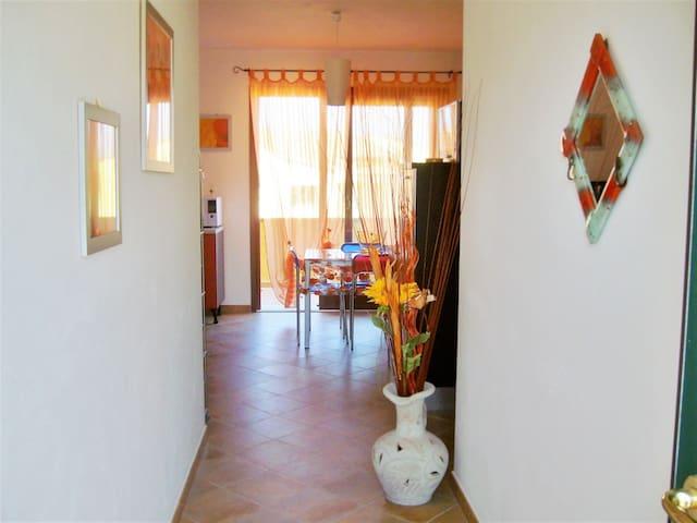 Tranquillo appartamento con vista