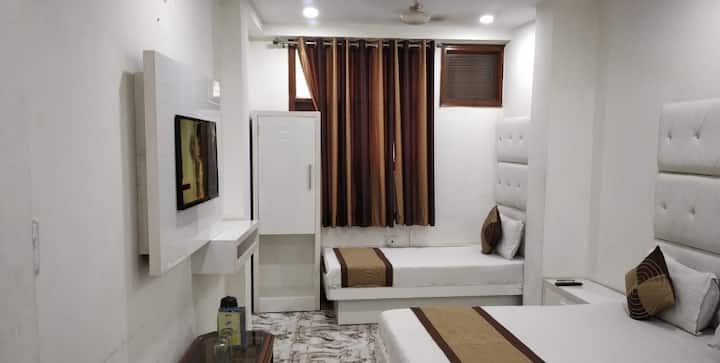 ADB Room crystal deluxe  (Risk free stay).