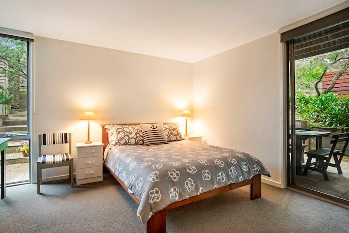Great Room in Modern Beach House