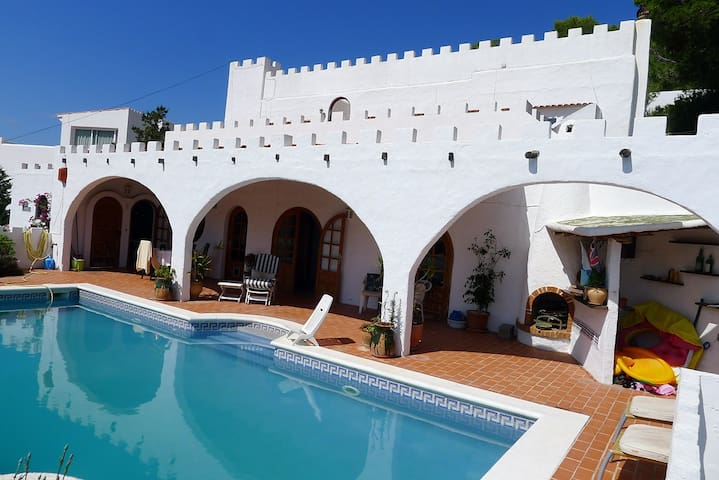 Rent your own Castle in Ibiza! Breathtaking views
