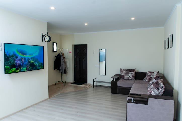 Living Room - Spacious and Bright