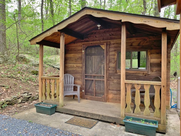 Glamping Cabin in the Catoctin Mountains