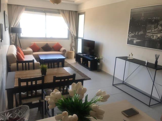 Appartement près des plages et du Morocco Mall