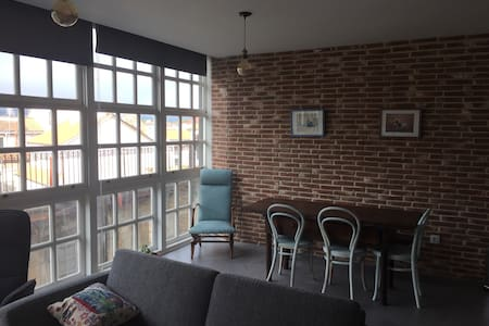 Bright & unique apartment at the heart of Ourense - Ourense - Apartemen
