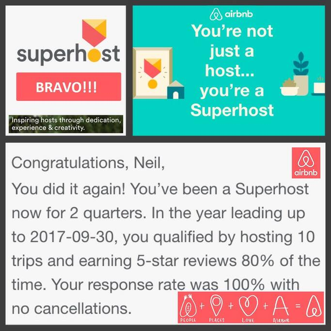 Superhost at your service