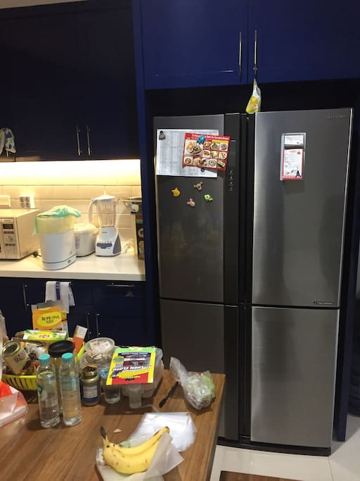 refrigerator are ready