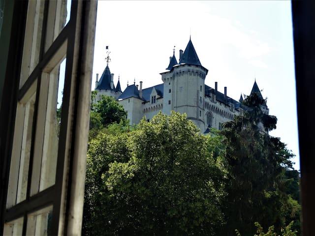 Appartement de charme avec vue sur le Château