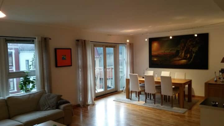 Beautiful apartment in Bergens best location