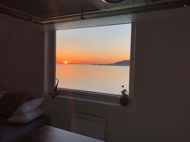 It's very wonderful sea view from window