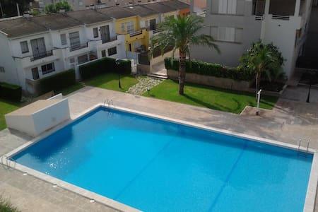 Apartamento con piscina en la playa (HUTT-012180) - Coma-ruga
