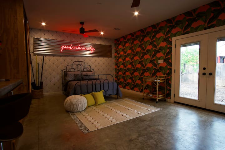 Good Vibes Only Casita in SoCo!