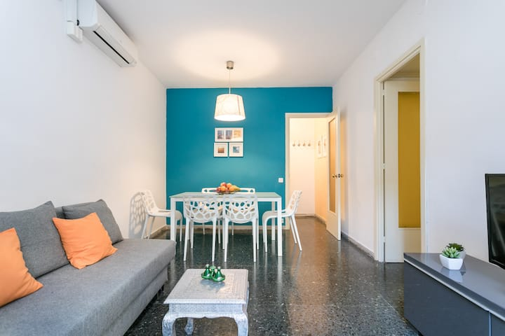 Charming apartment with PARKING/near Park Guell