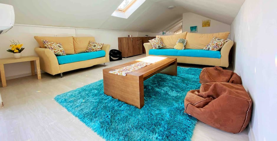 Cozy loft for couples & singles get away