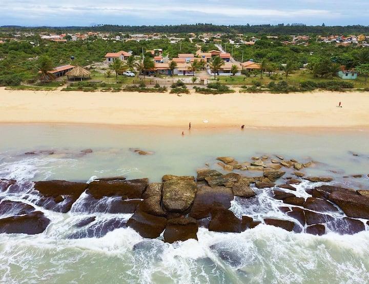 Casa Awe | Suite c/ acesso à praia