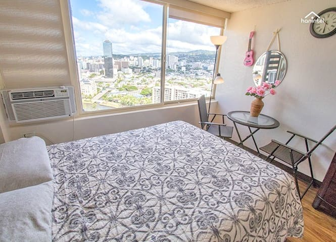 Studio With Great View & Price in Waikiki