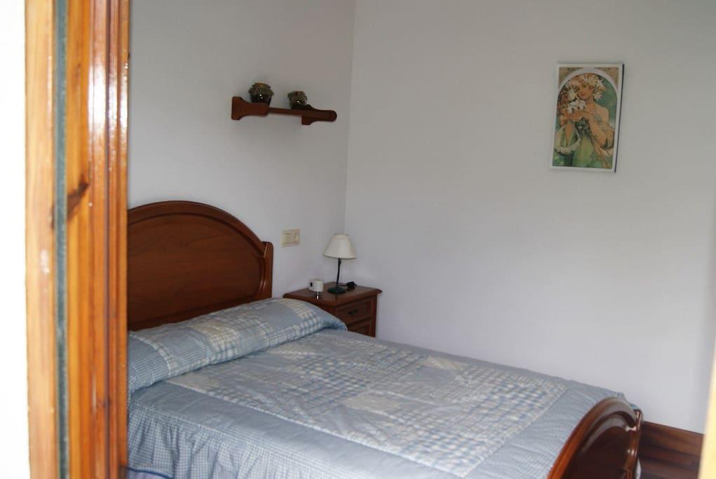 Dormitorio 1 cama 1:35