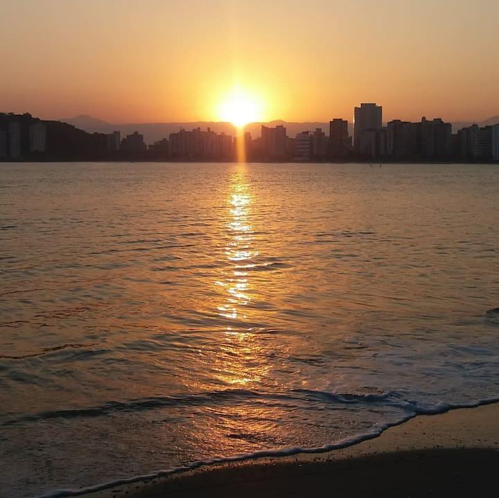 Kitnet José Menino (SANTOS) - Frente ao mar