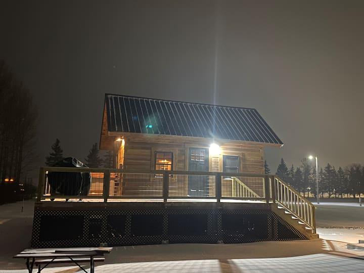 Homestead Cabin at the Hillsboro Campground
