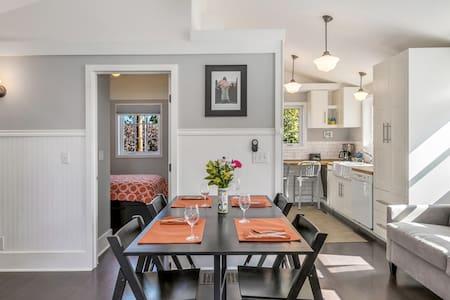 Solar-powered 2-story apartment w/ gourmet kitchen