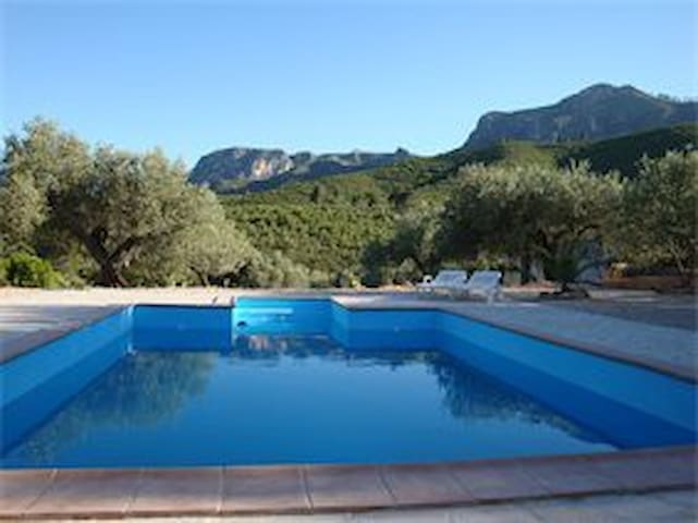 Spanish Hacienda with Pool, in a Natural Park - Rasquera - Apartamento