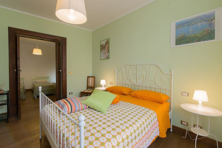 Quadruple room - B&B AL BELVEDERE - Atri - 家庭式旅館