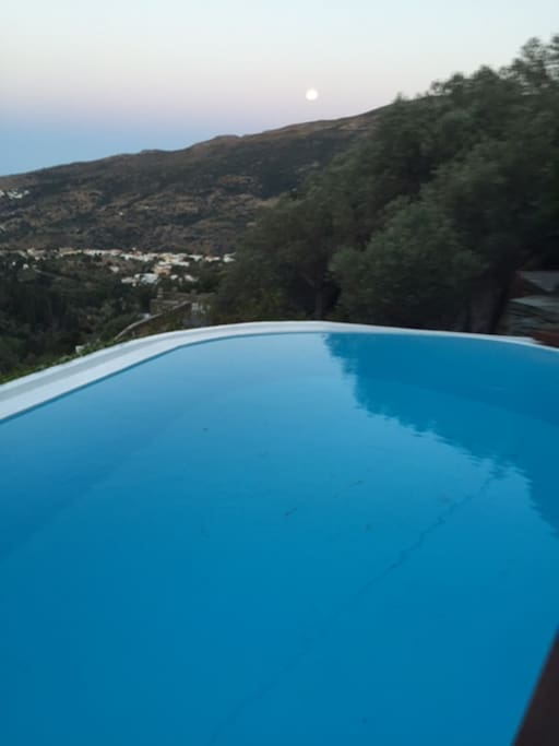 One of a Kind 1900s Farmhouse Villa with pool - Andros