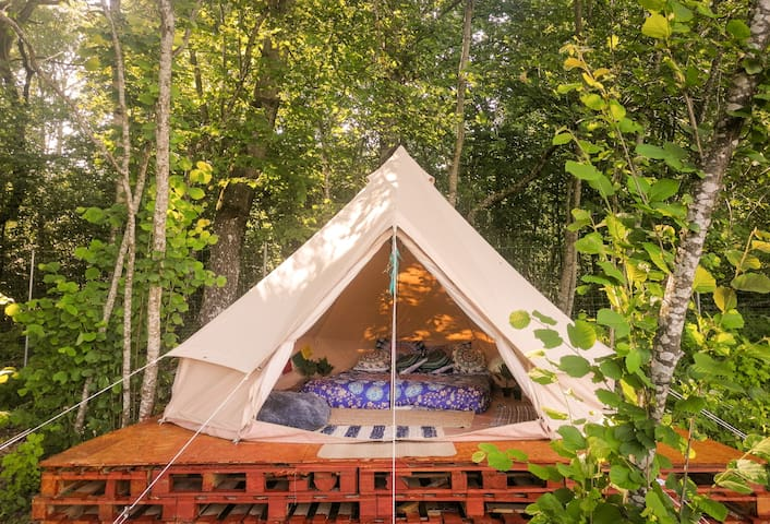 Bohostay Glamping Mandala. tent