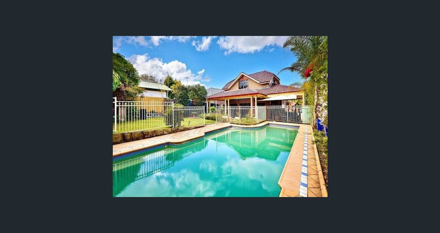Beaut home near hospital shops Rhodes Olympic park
