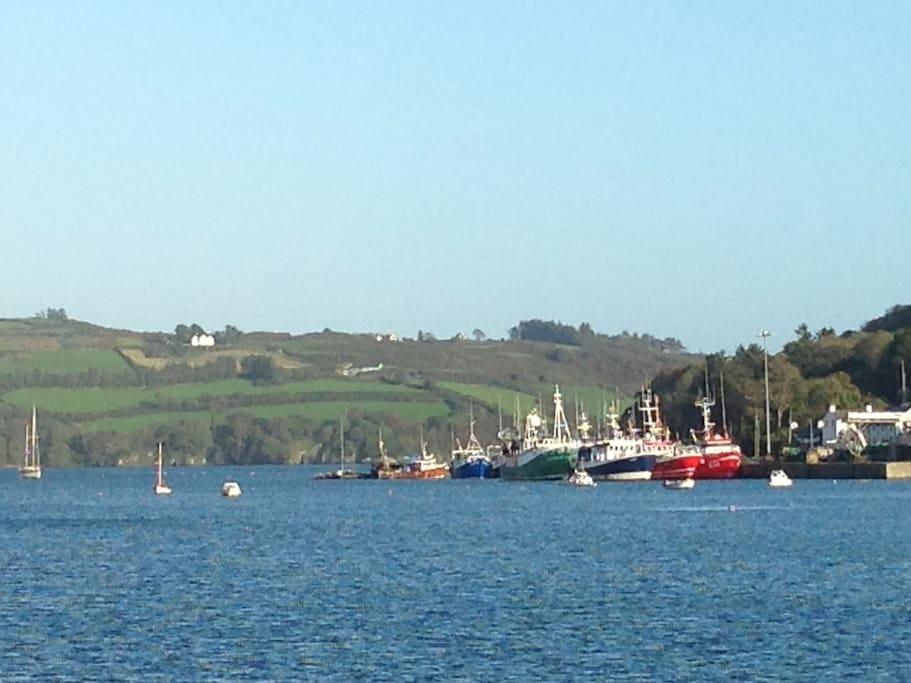 Union Hall fishing fleet