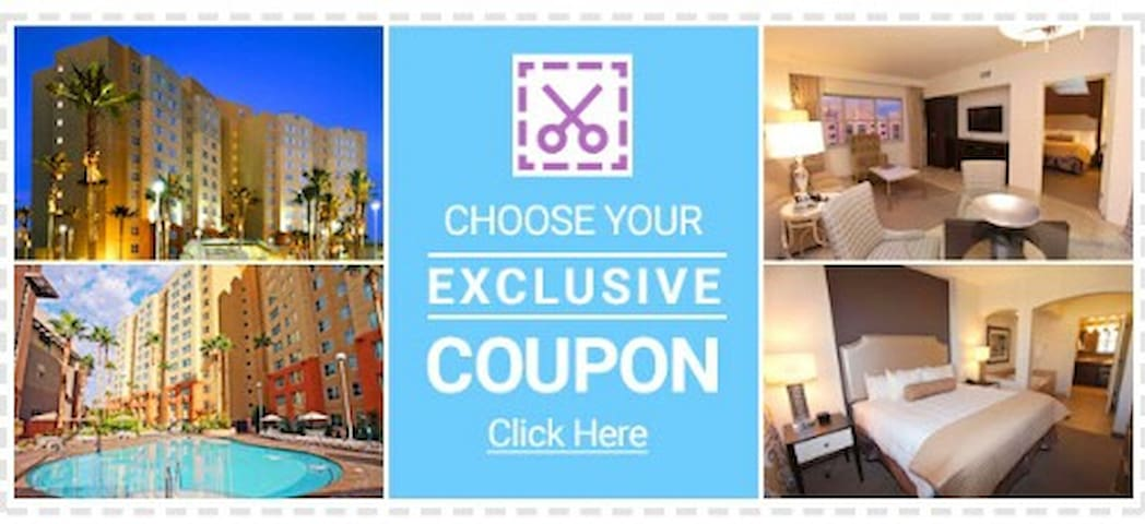 Coupons-Rewarded Condo Next To Casino & Spa